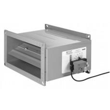 Регулятор расхода воздуха с ручным управлением MRP-4 (прямоугольное сечение)
