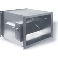 Регулятор расхода воздуха с ручным управлением MRP-2 (прямоугольное сечение)