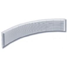 Изогнутые стальные решетки JRU-5, JRU-6