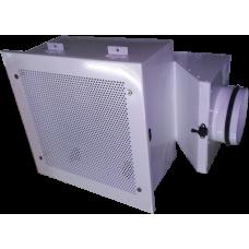 Корпус НЕРА фильтра ( 305х305х 78) в гигиен. испол. потолочный H 80- 347х347 (P) 160V (ВВЕРХ)