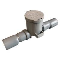 Сифон шаровой для отвода конденсата (самозапирающийся) DN32