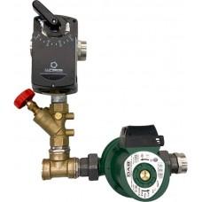 Узел регулирования температуры теплоносителя DN Light 25,  VA 35,  4 (без подводки)