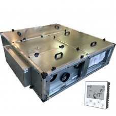 Установка вентиляционная приточно-вытяжная Node1-2200 RP,VAC,E13.5 Compact