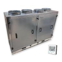 Установка вентиляционная приточно-вытяжная Node1-1600/RP,VEC,W Vertical