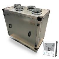 Установка вентиляционная приточно-вытяжная Node3- 500/RR,V321,E1.5 Vertical