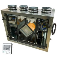 Установка вентиляционная приточно-вытяжная Node5- 160/RP-M,VAC,E1.5 Vertical (300 м3/ч, 180 Па)