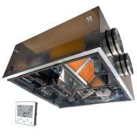 Установка вентиляционная приточно-вытяжная Node5- 125/RP-M,VAC,E0.75 Compact (200 м3/ч, 190 Па)