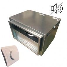 Вентилятор канальный бесшумный VS(EC)-4020 с пультом ДУ (улитка ebm-papst)