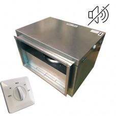 Вентилятор канальный бесшумный VS(AC)-4020 с пультом ДУ (улитка ebm-papst)