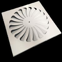Диффузор вихревой DV-1/1 625х625 RAL9016