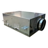 Вентилятор канальный круглый V- 100 Compact (компактный МЕТАЛ. корпус, мотор-колесо ebm-papst)