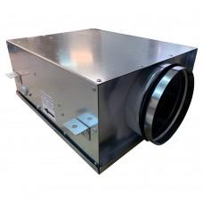 Вентилятор канальный круглый V- 160 Compact (компактный МЕТАЛ. корпус, мотор-колесо ebm-papst)