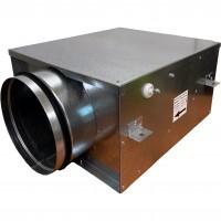 Вентилятор канальный круглый V-125 Compact (компактный метал. корпус, мотор-колесо ebm-papst)