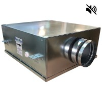 Вентилятор канальный круглый шумоизолированный VS- 125 Compact (мотор-колесо ebm-papst)