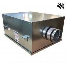 Вентилятор канальный круглый шумоизолированный VS- 100 Compact (мотор-колесо ebm-papst)