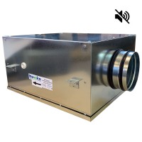 Вентилятор канальный круглый шумоизолированный VS- 160 Compact (мотор-колесо ebm-papst)