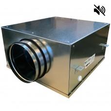 Вентилятор канальный круглый шумоизолированный VS- 200 Compact (мотор-колесо ebm-papst)