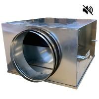 Вентилятор канальный круглый шумоизолированный VS- 315 Compact (мотор-колесо ebm-papst)