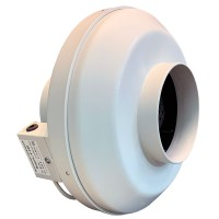 Вентилятор канальный круглый V- 160 (пласт. корпус, мотор-колесо ebm-papst)