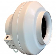 Вентилятор канальный круглый V- 200 (пласт. корпус, мотор-колесо ebm-papst)