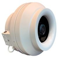 Вентилятор канальный круглый V-250 (пласт. корпус, мотор-колесо ebm-papst)