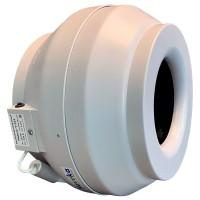 Вентилятор канальный круглый V- 315 (пласт. корпус, мотор-колесо ebm-papst)