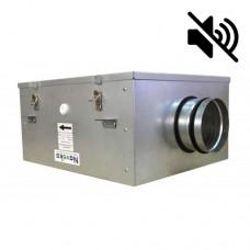 Вентилятор канальный бесшумный VS(AC)-100 с пультом ДУ (улитка ebm-papst)