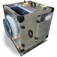 Вентилятор кухонный в шумоизолированном корпусе