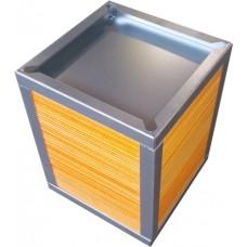 Рекуператор пластинчатый HBT-W 202х202-250-2.5B (мембранный)
