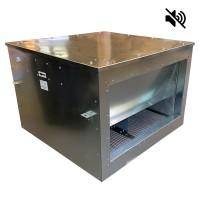 Вентилятор канальный прямоугольный шумоизолированный VS341- 6035 (0,69 кВт; 3,1А; 220В)