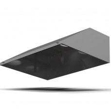 Зонт пристенный ЗВП-0 2000х700х400 d315 оцинк.